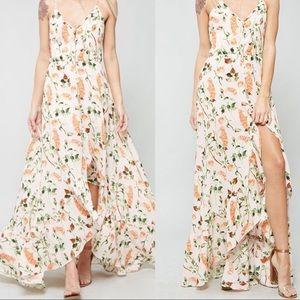 Delaney Floral Maxi Dress